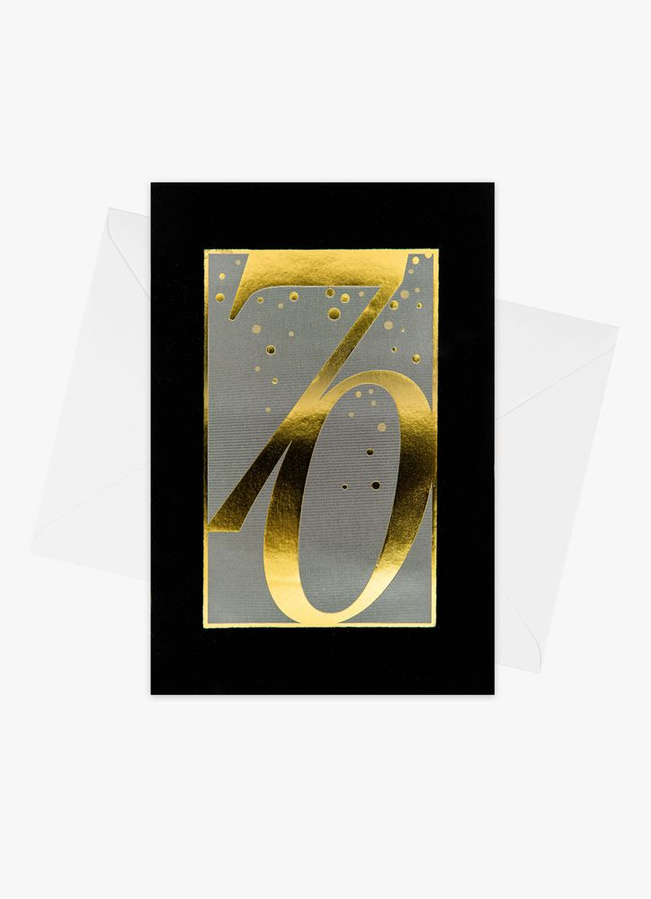 Födelsedagskort 70 år