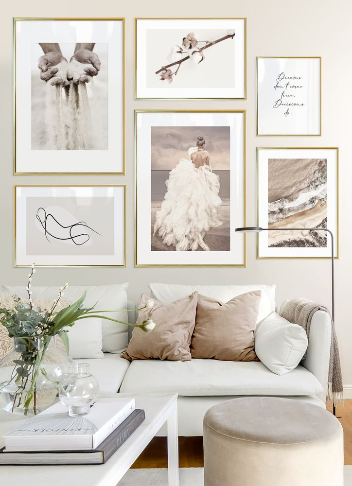 Soft gallery wall