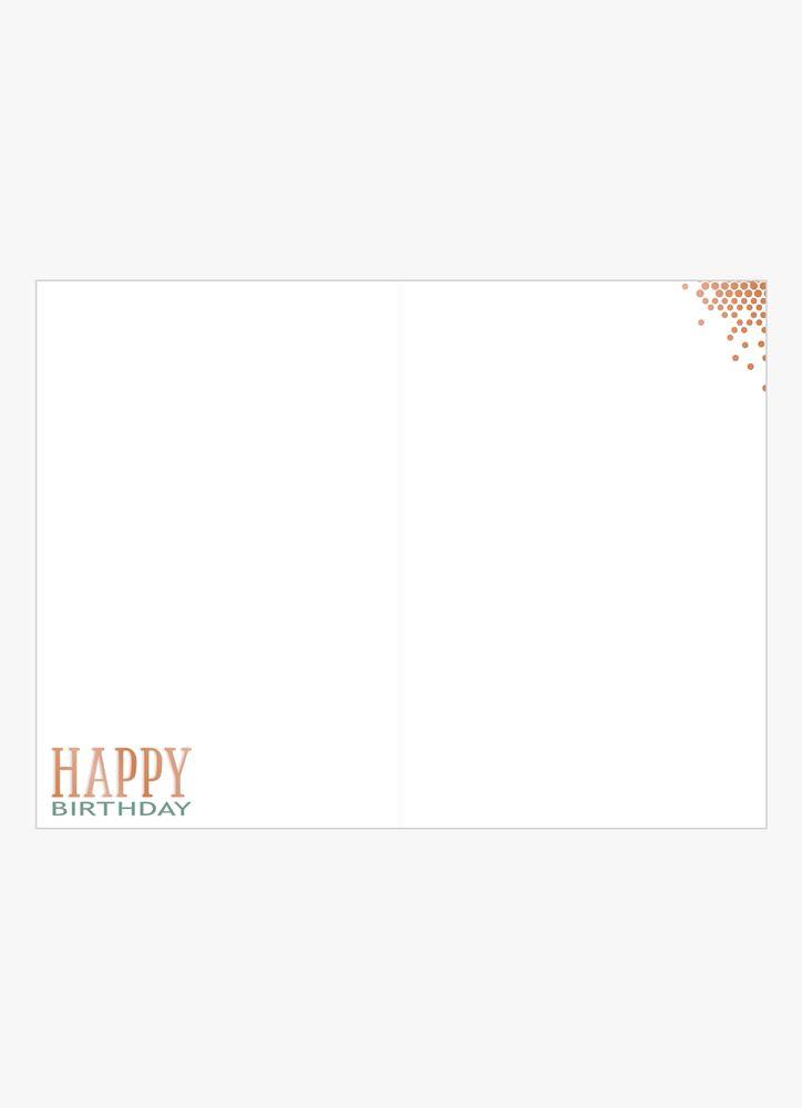 Happy Birthday Grafiskt Gratulationskort