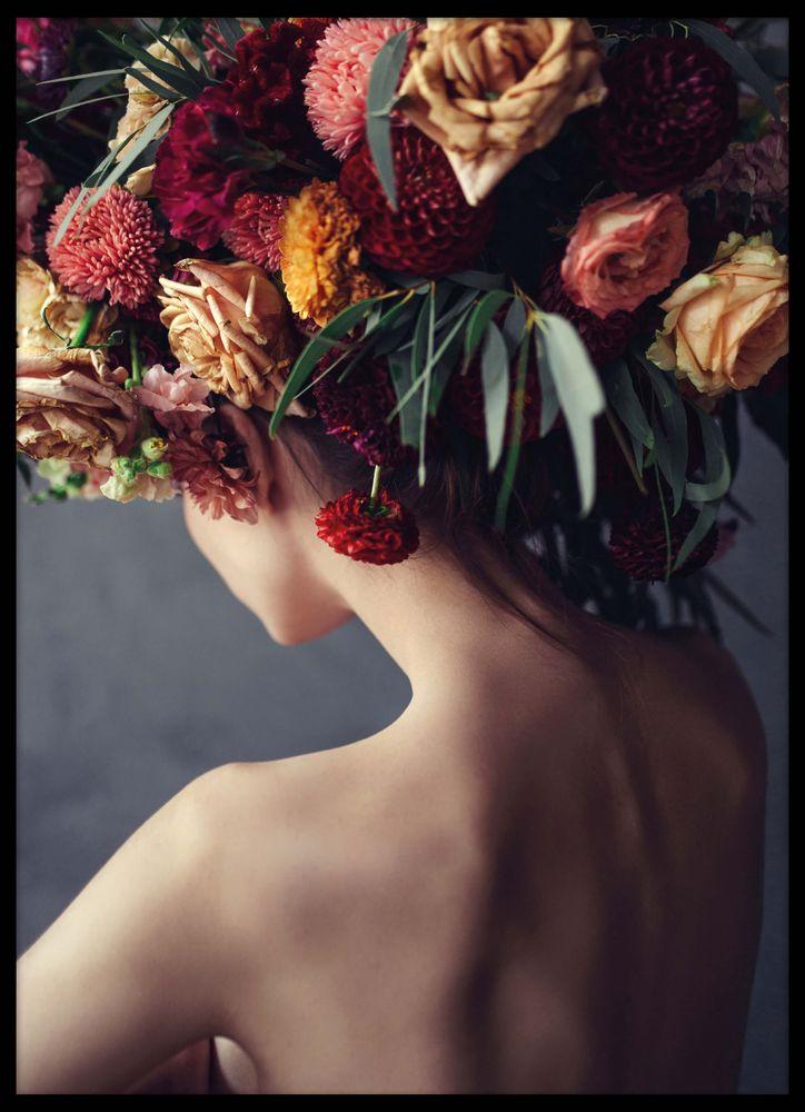 Blommor i håret poster