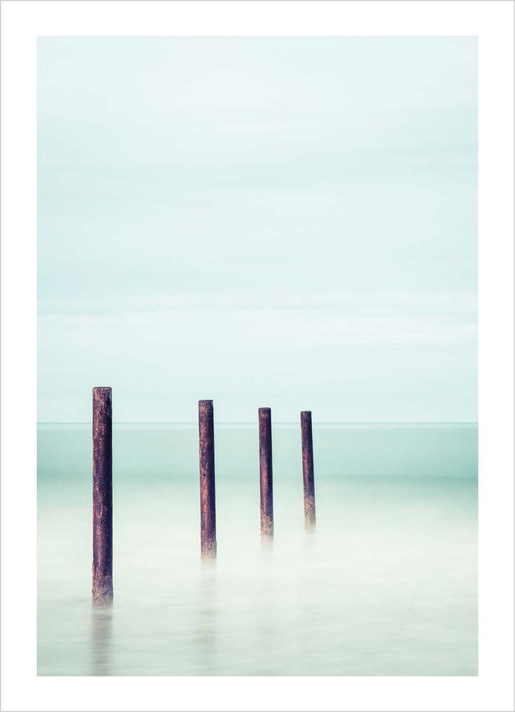 Pålar i havet poster