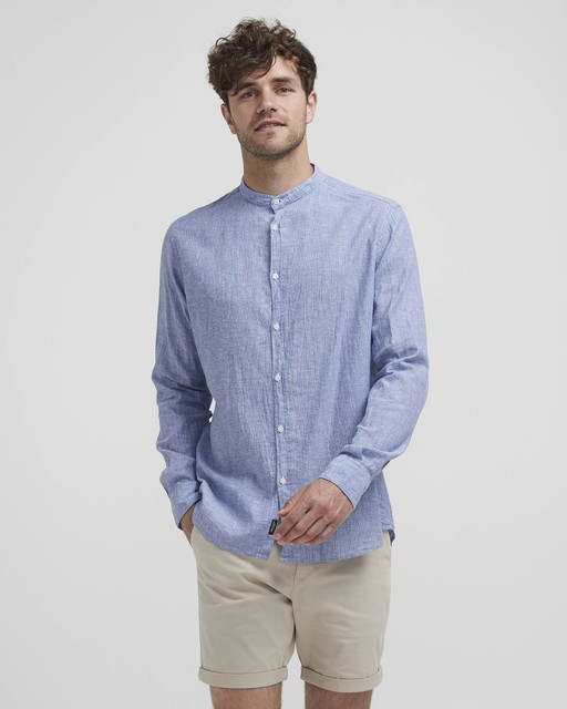 Wille Collarless Shirt