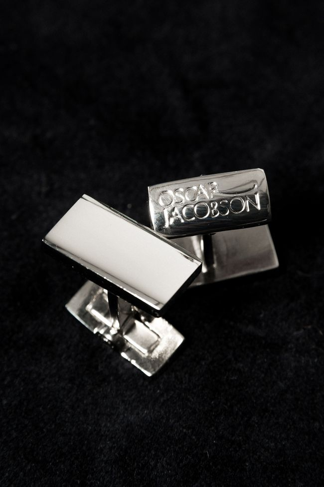Rectangual cufflinks
