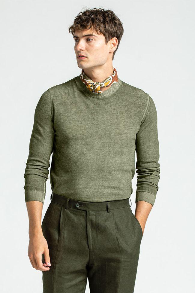 Custer rundhalsad tröja