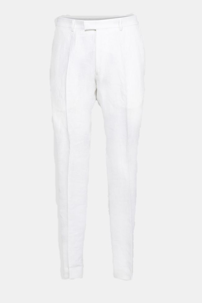 Denz linen trousers