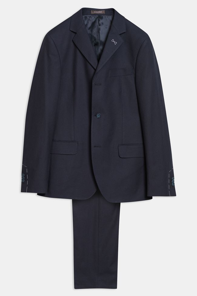 Elias three button suit