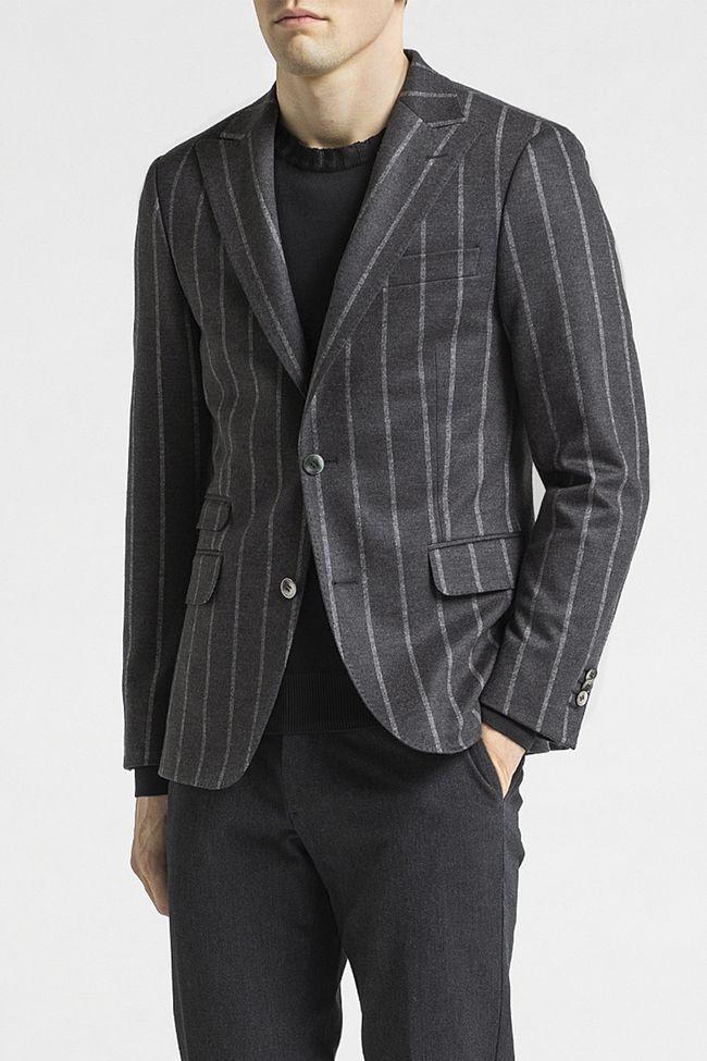 Elmer flannel blazer