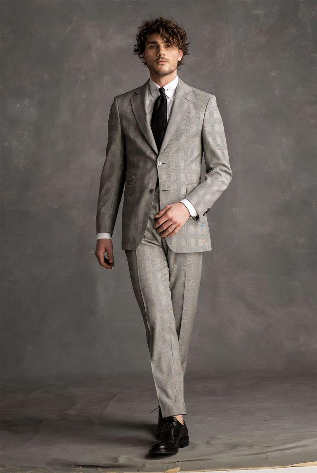 Gabriel Checked Suit