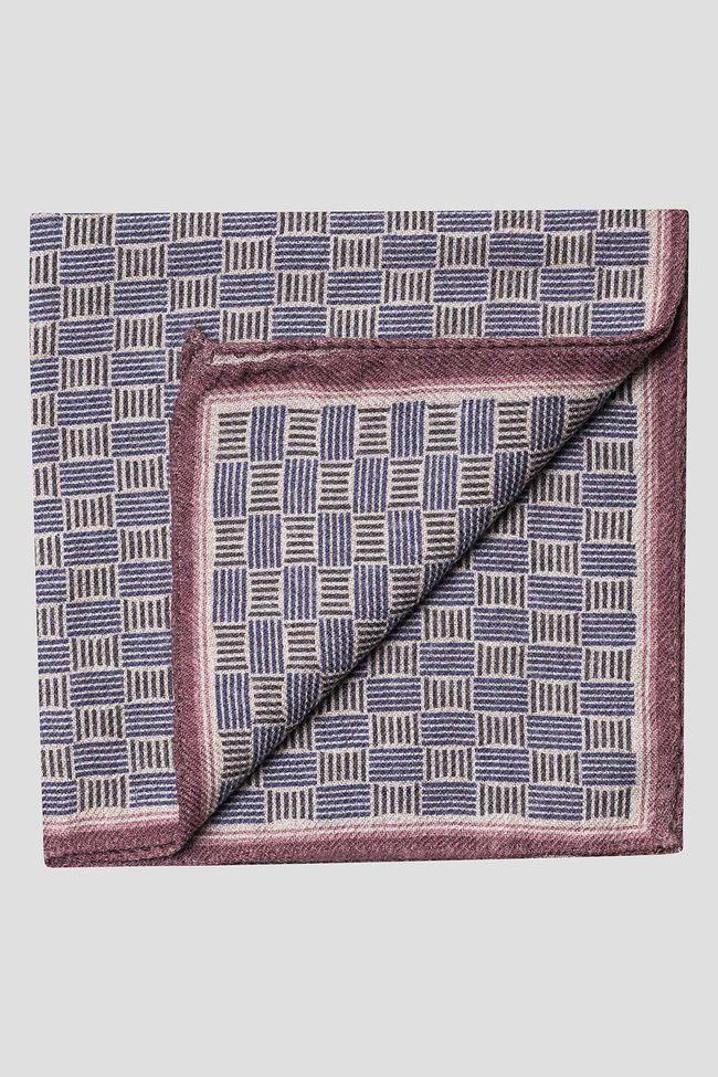 Pattern wool handkerchief