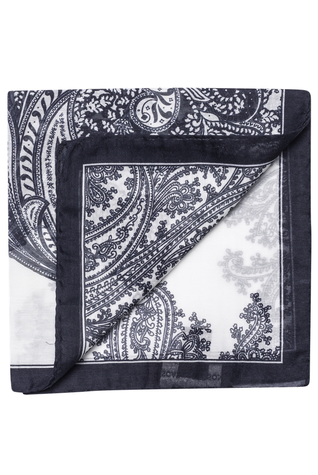 Cotton & silk handkerchief