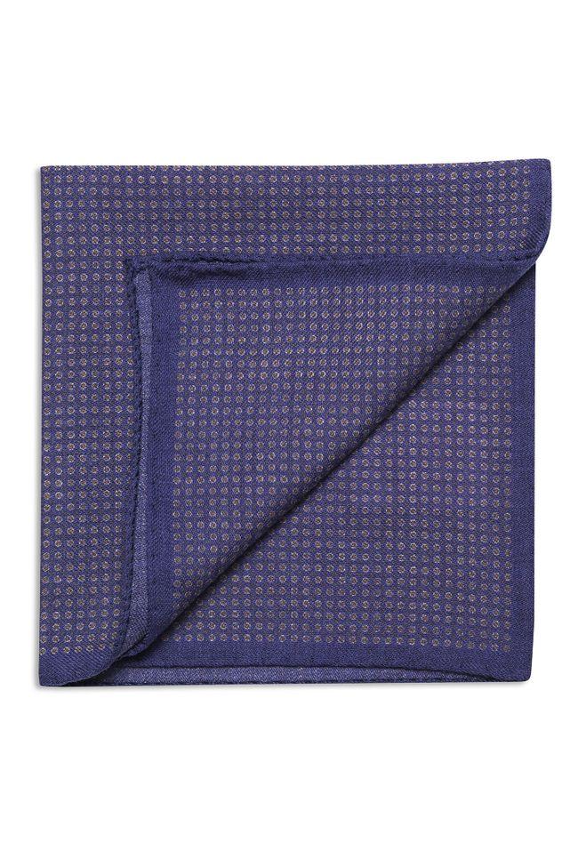 Micro dotted wool Handkerchief