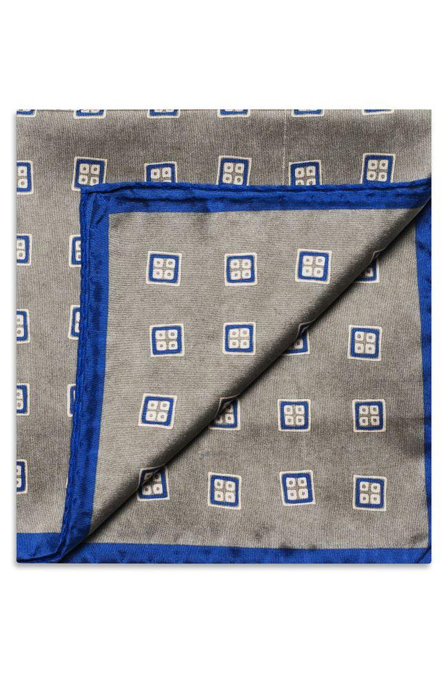 Printed Silk Handkerchief