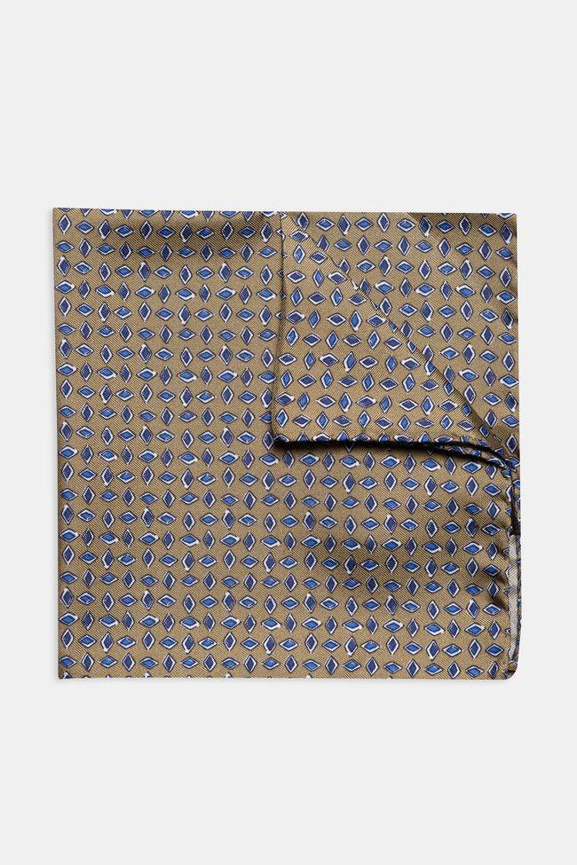 Micro patterned silk handkerchief