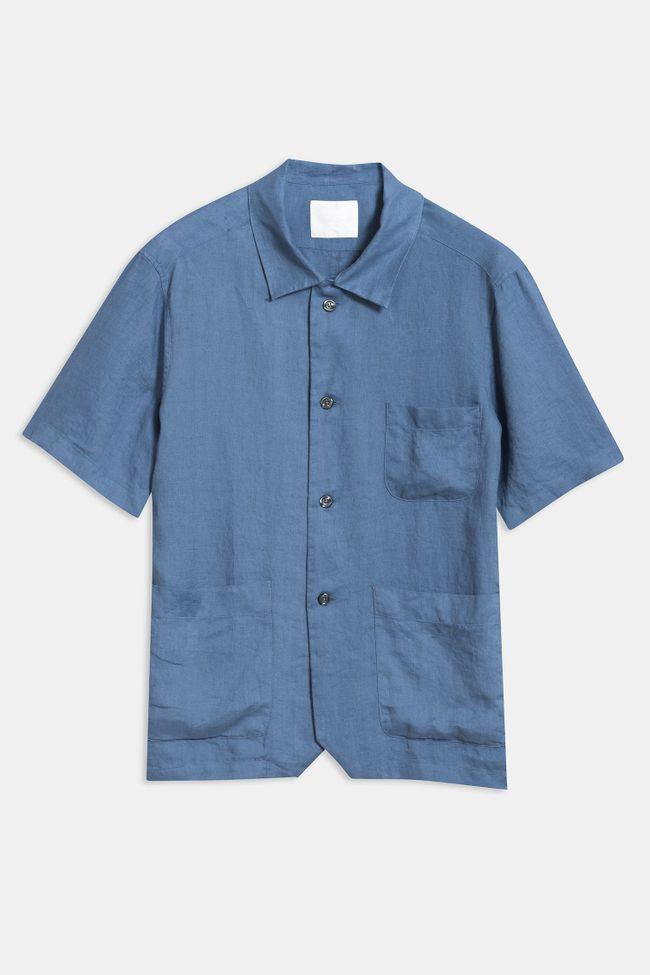 Hanks short sleeve linen shirt