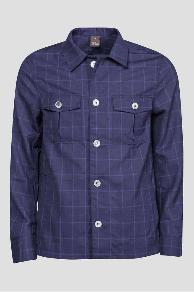 Helge checkered overshirt