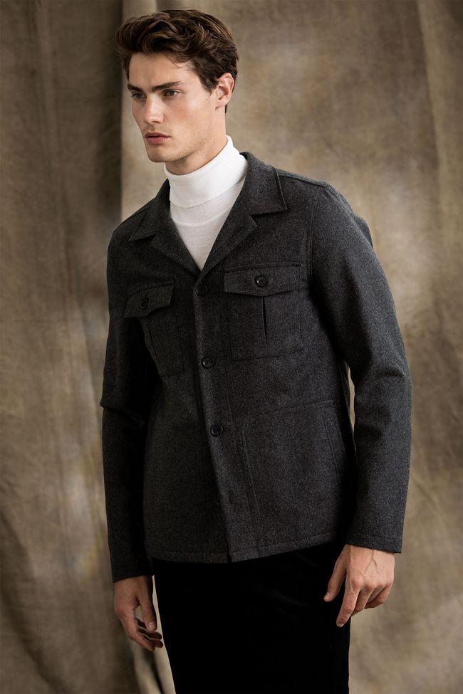 Holger flannel overshirt