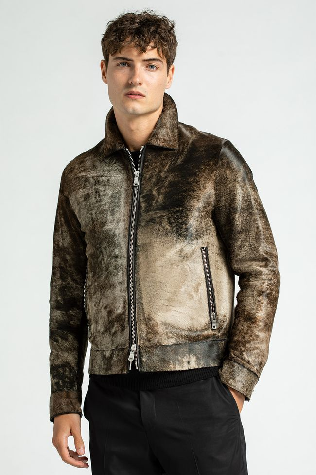 Logner leather jacket