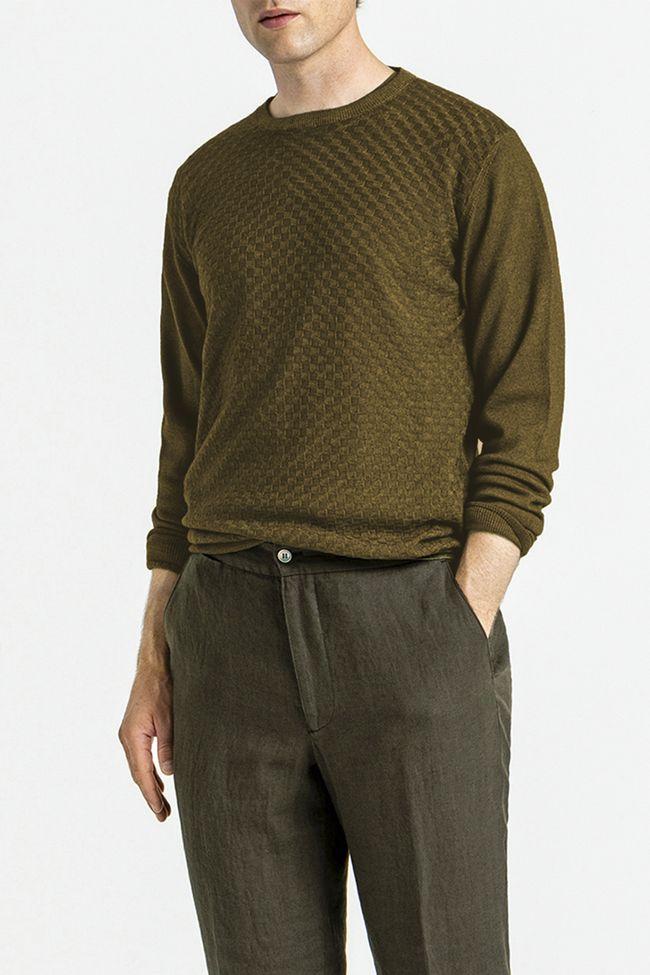 Malte rundhalsad tröja
