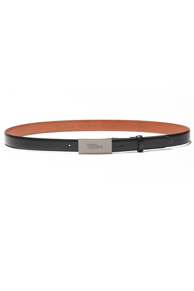 Vincenzo Logo leather belt 30 mm