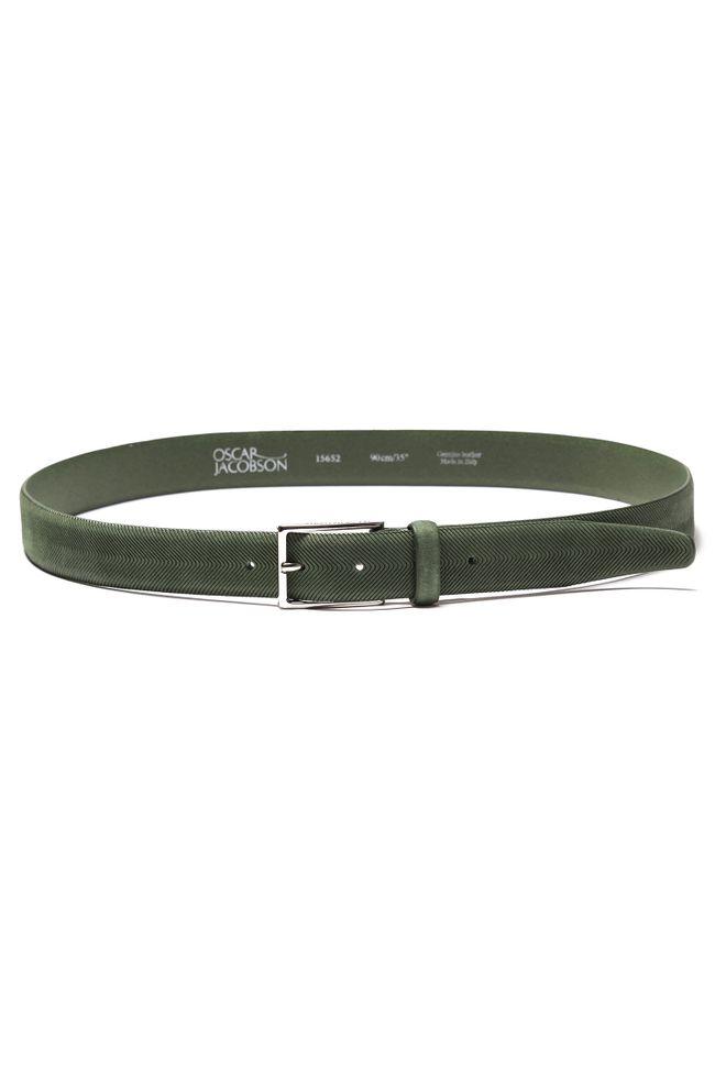 Virgil Leather belt 30mm