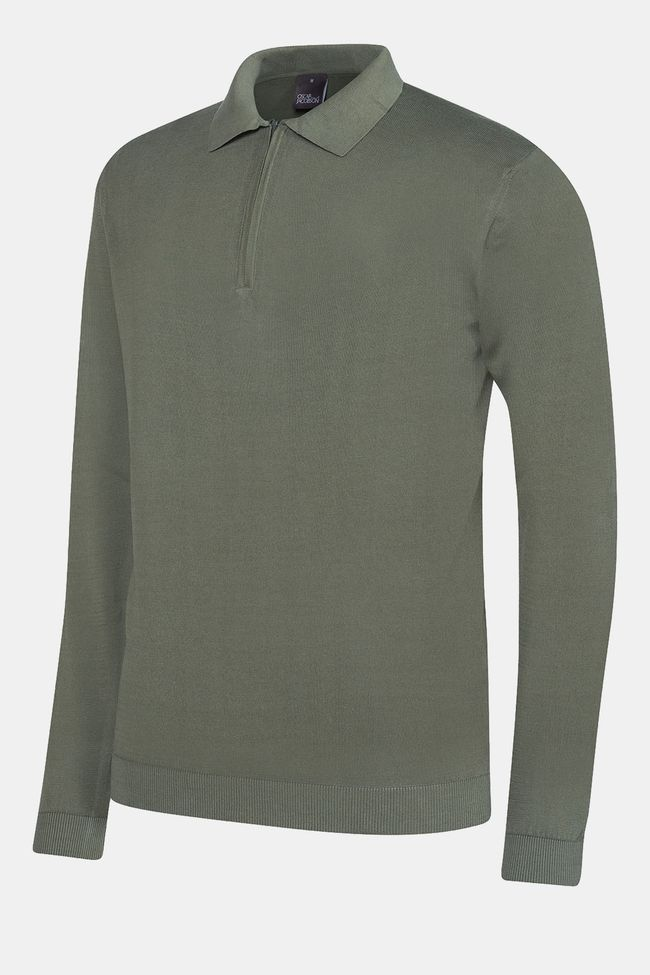 Olle long sleeve poloshirt