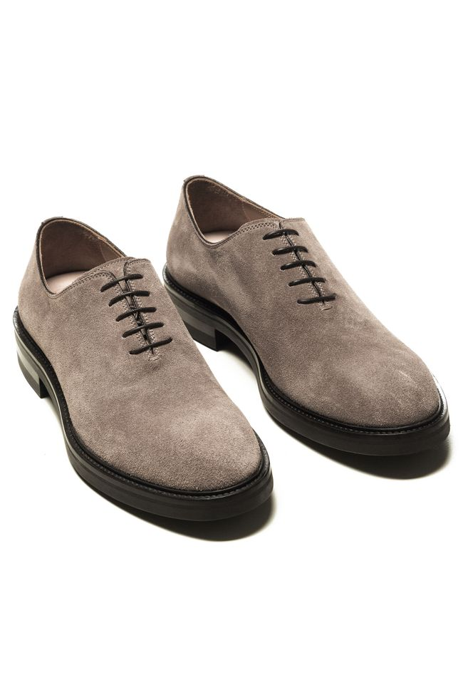 President wholecut suede oxford shoes
