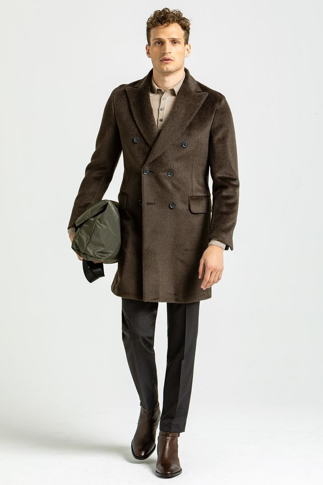 Saul Delux double breasted Coat