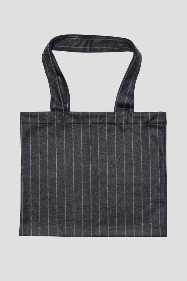 Pinstripe tote Bag