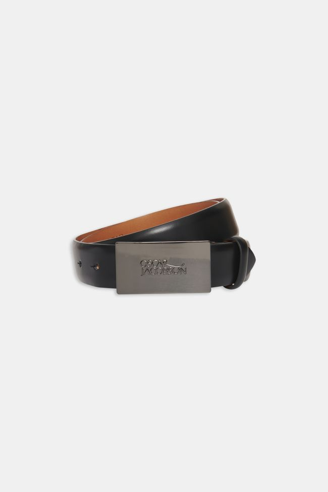 Van Leather belt logo 30 mm