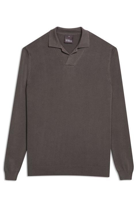 Caspian Long Sleeve Poloshirt