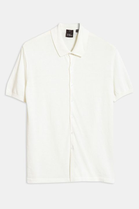 Celvin knitted short sleeve shirt