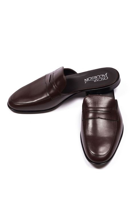 Dart Leather Slippers