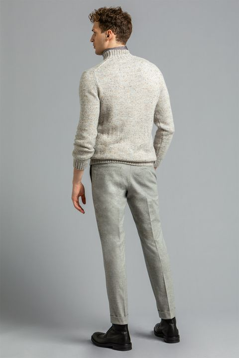 Dean cotton trousers