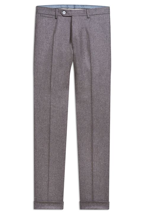Dean flannel trousers