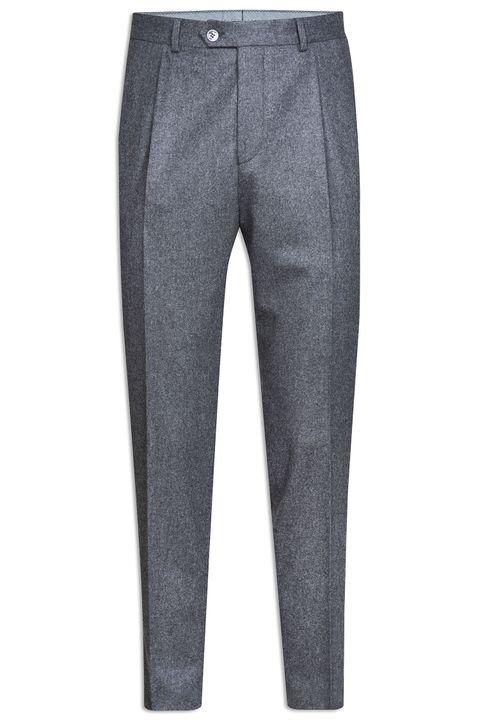 Delon flannel trousers