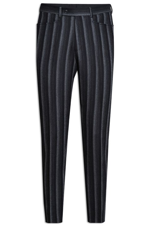 Eames striped double breasted suit