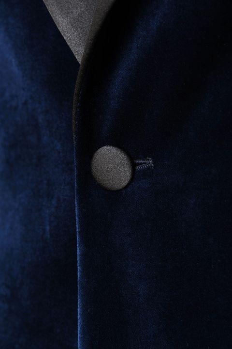 Elder velvet tuxedo blazer