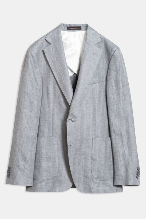 Ferry Patch herringbone Blazer