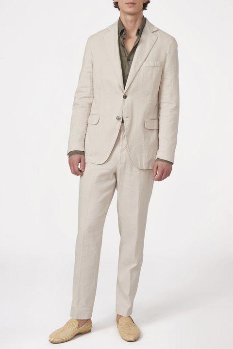 Ferry linen suit