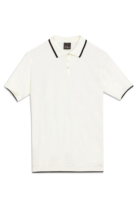 Folke Pique-knit Poloshirt