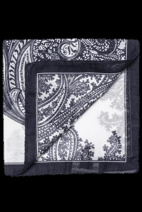 Cotton & silk handkerchief