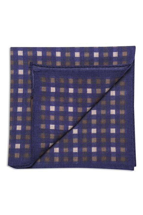 Checkered wool Handkerchief