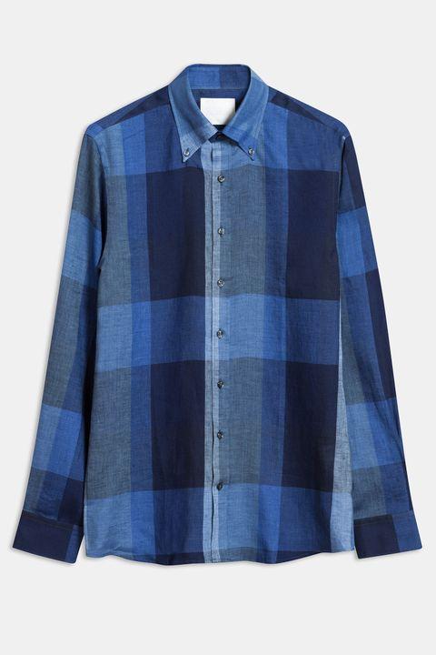 Harry checkered linen shirt