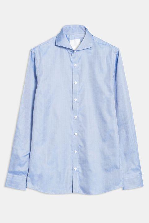Herman herringbone shirt