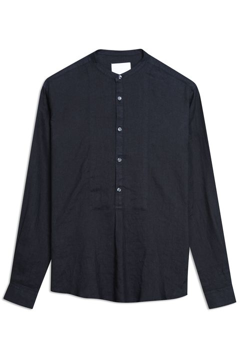 Hurby popover linen shirt