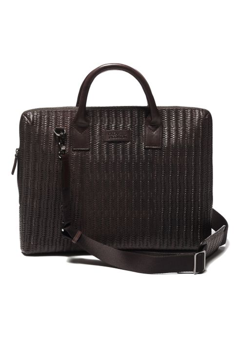 Italo Braided briefcase 13'
