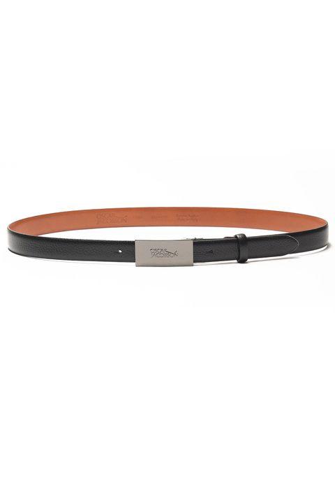 Vincenzo Logo leather belt 30 mm