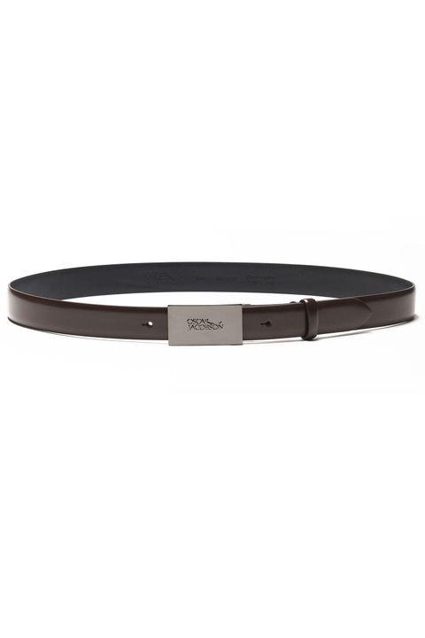 Van Leather belt logo 30 mm