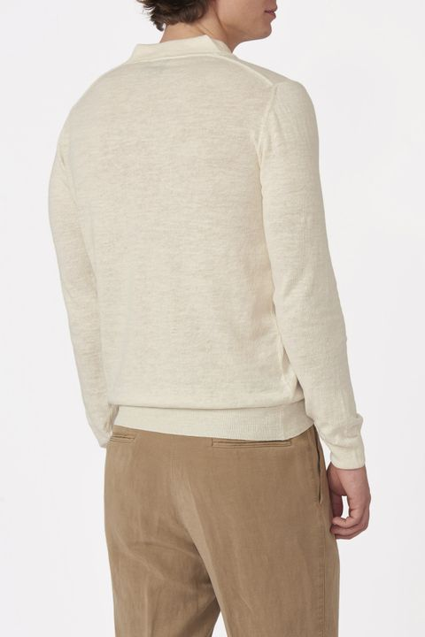 Oliwer long sleeve poloshirt