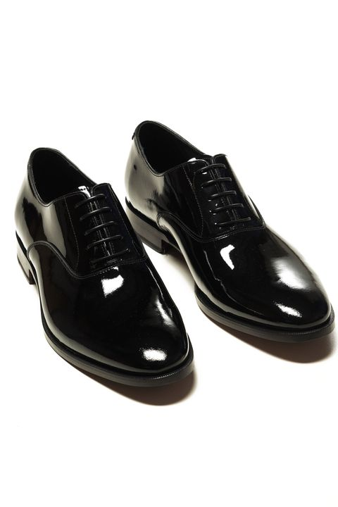 Prince patent leather shoes